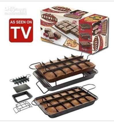 Brownie Cake Pan As Seen On Tv