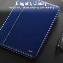 Case for iPad 9.7 2017 NEW model, ESR Premium PU Leather Business Folio Stand Pocket Auto Wake Smart Cover for iPad 2017 9.7 new