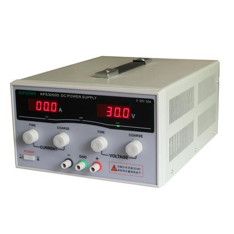 1500 Watt KPS3050D Hohe präzision Hohe Leistung Einstellbar GEFÜHRT Dual Display Schalt dc netzteil 220 V 30 V/50A