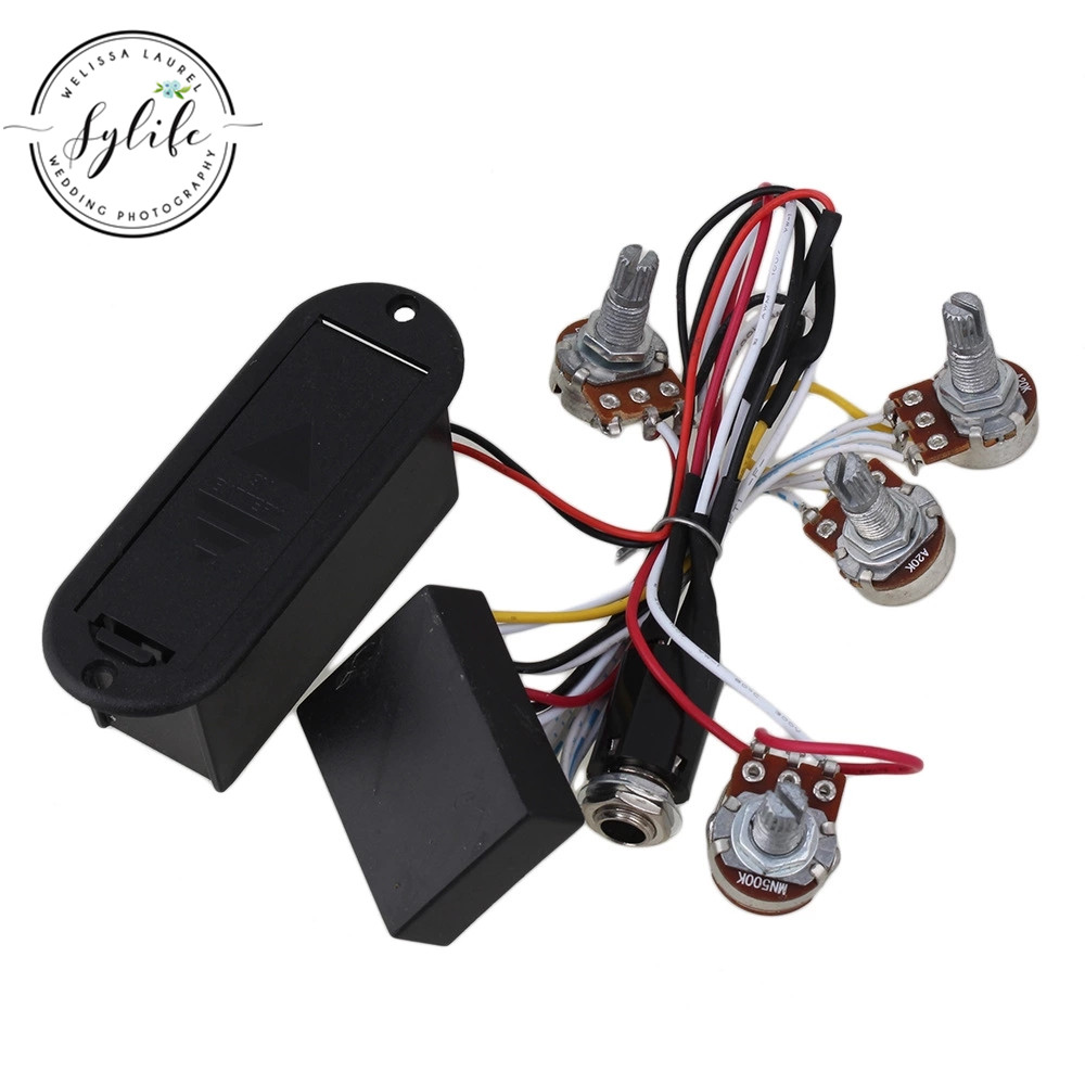Hot Sale 2 Band Eq Preamp Circuit For Active Bass Pickup Amplifying Pre Amp