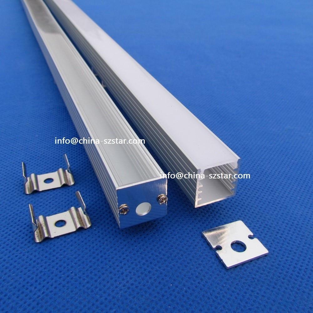 ; 2 Mt Pro Stück U Aluminium Led Profil Für Led-streifen Licht; Aluminium Kanal Led Qc1515 10 Teile/los 20 Mt