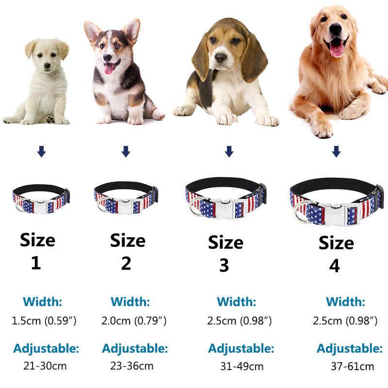 Cani Collari Su Misura Pet Imbracature Cane Personalizzati Copriletto Personalizzato Gatto Cani Tag Inciso Collare di Cane ID Tag Nome e il Telefono 40