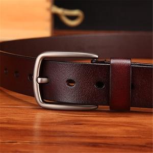 Image 4 - WESTERN AUSPICIOUS Genuine Leather Belt Luxury Designer Belts Men Cowskin Fashion Strap Male Jeans for Man Cowboy Belt Famous
