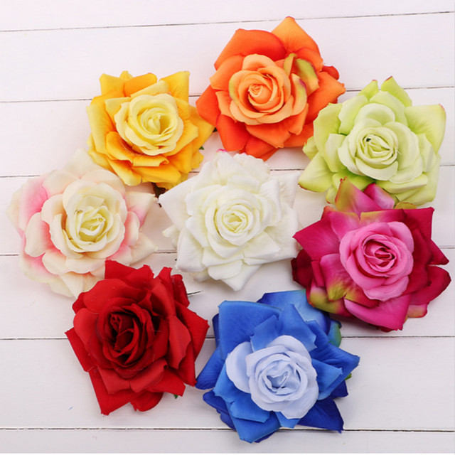 Bridal wedding party silk flower hair accessories artificial flowers bridal wedding party silk flower hair accessories artificial flowers hair clip bohemia beach rose hair clip mightylinksfo