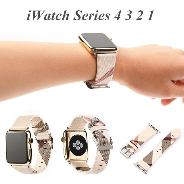 Для iWatch Band 44 мм 40 мм 42 мм 38 мм кожаный ремешок для iWatch серии 4 3 2 1 натуральная кожа петля для Apple Watch ремешок браслет