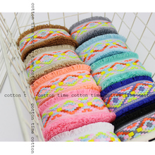 5yards/lot 45mm Ethnic Embroidered Jacquard Ribbons Trim accessory for bag garment home deco Multicolour