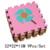 Venda quente 32*32 cm 9 pçs/set Enigma Tapete esteira Do Jogo Do Bebê Tapete Crianças EVA Foam Mat Enigma Chão Tapete Desenvolvimento tapete de chão de mosaico
