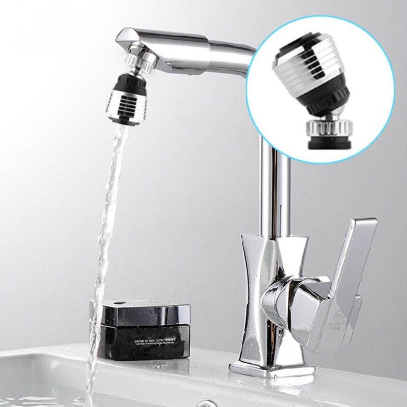 360 Drehen Swivel Wasserhahn Düse Torneira Wasser Filter Adapter Wasserfilter Saving Tap Belüfter Diffusor Dropshipping #1101 Lampenfassung Umwandler