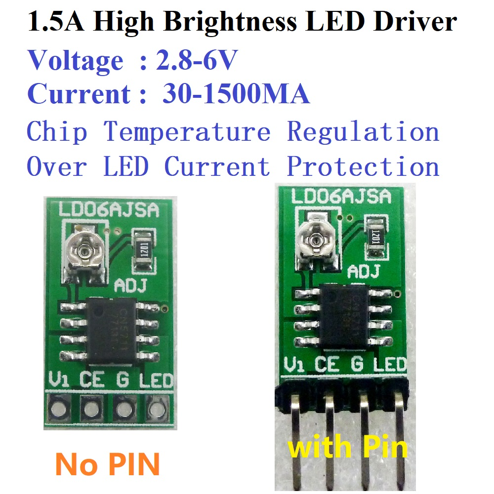 5pcs 37 5v 3528 White Led 1pcs Touch Driver Controller Dc Pwm Control Using Arduino 8211 Learn To Motor Speed And Brightness 3 6v 30 1500ma Adjustable Constant