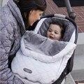 Venda quente Carrinho De Bebê Footmuff Saco de Dormir Envelope Sacos de Dormir Do Bebê Outono Inverno Quente À Prova de Vento Prma Footmuff