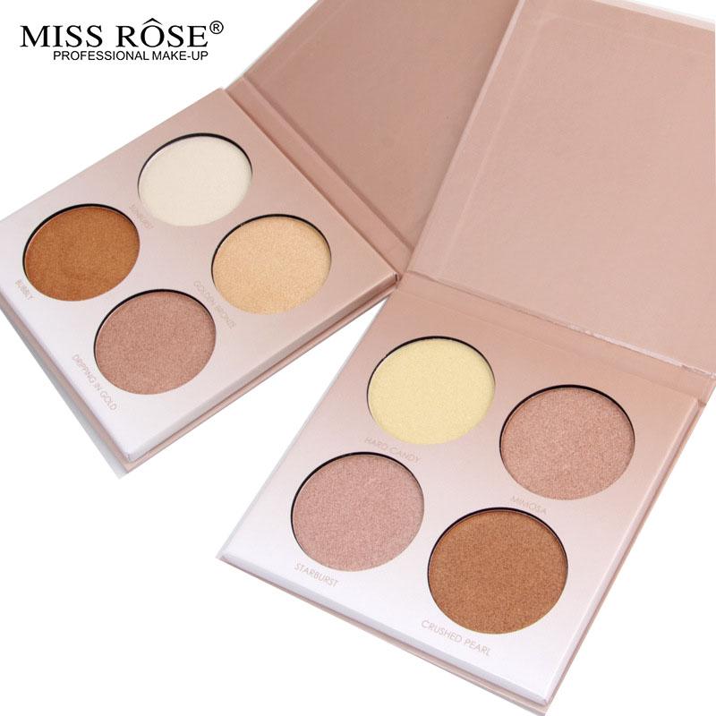Miss Rose palette Glow Kit  Highlighter Palette Concealer Pro Conceal Contour Bronzer primer Maquiagem Makeup Powder palette  Z3