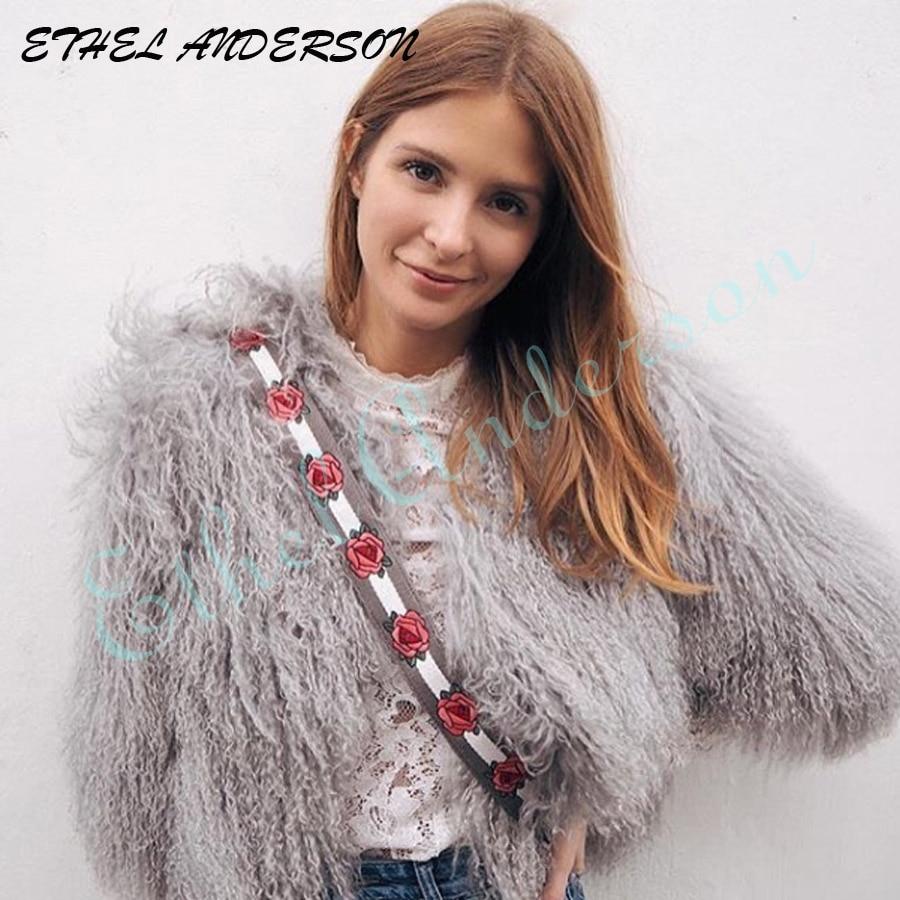 Milan Show 2018 Echtpelz Mäntel Frauen Marke berühmte echte - Damenbekleidung - Foto 1