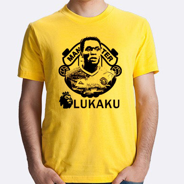 size 40 66ed1 9c77f US $13.99 |Men's Short sleeve t shirt Romelu Lukaku Belgium Belgien 100%  cotton t shirt jersey fans for shirt -in T-Shirts from Men's Clothing on ...