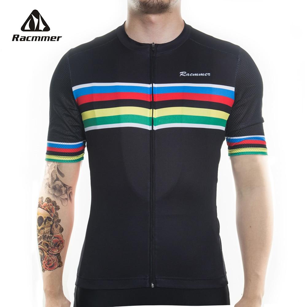 Racmmer 2019 Ciclismo Jersey PRO FIT Mtb Bicicleta Vestuário Bike Wear Ropa  de ciclismo Roupas Maillot d0fe27cf234ea