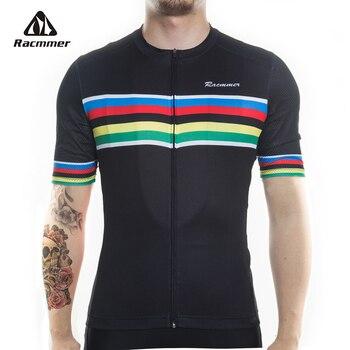 Racmmer-Ropa De Ciclismo profesional, Maillot corto De Verano para Hombre, 2020