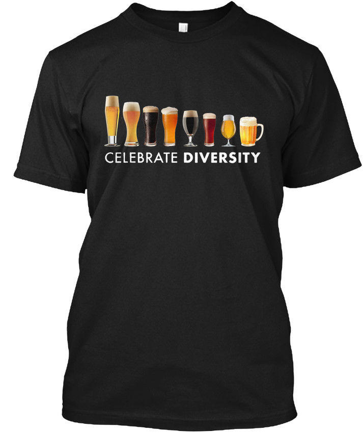 Celebrate Diversity - Popular Tagless Tee T-Shirt