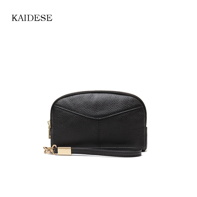 KAIDESE Leather Large Capacity With A Makeup Bag And A