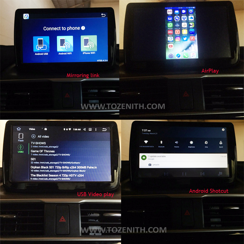 mazda3 android car radio car gps screen new mazda 3 axela (4)