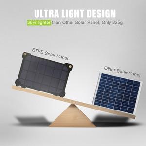 Image 3 - Allpowers bateria portátil de painel solar 21w, células fotovoltaicas e carregadores de celular para sony iphonex plus 11pro ipad