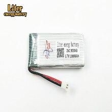 Nova Versão 5PCS 3.7 1300 V 903048 mAh LiPo Bateria para X5SW X5SC X5 X5C Zangão bateria 3.7 V 1300 mah Lipo 25c