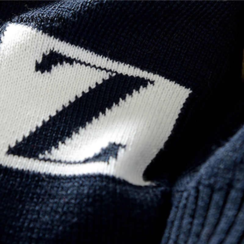 Suéter de los hombres M-3XL 2018 nueva llegada de los hombres ocasionales Jersey otoño alrededor del cuello de la calidad de los hombres de la marca de blusas plus tamaño