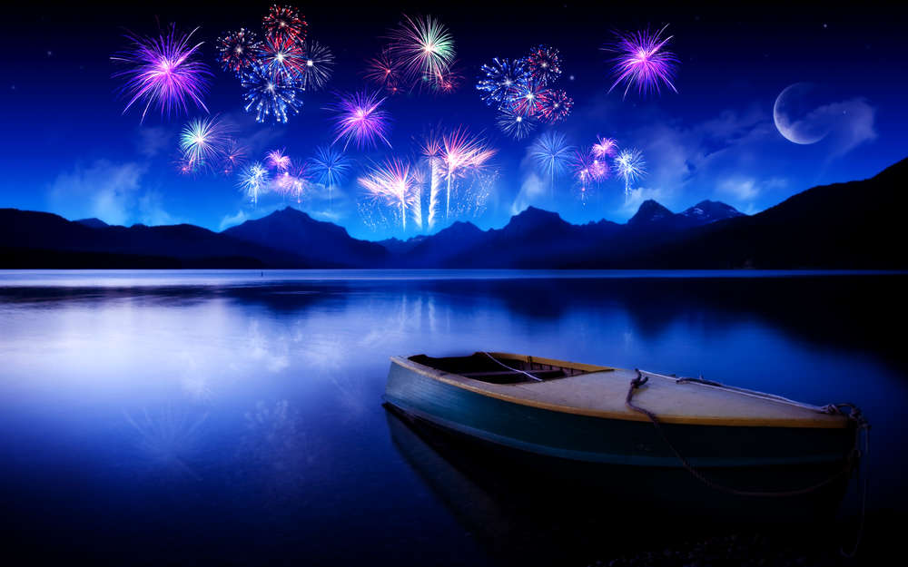 celebrating new year hd printed on Canvas Arts Pictures For office Decor modern poster Christmas Gifts