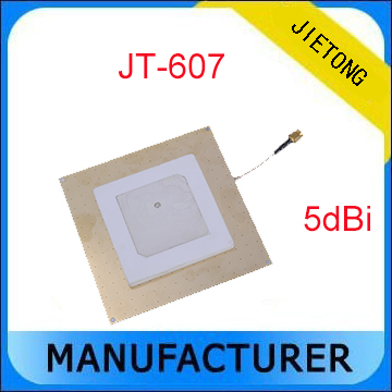 ФОТО 860~960 MHz 5 dBi Circular Polarization UHF RFID Passive Ceramic Antenna with SMA Connector