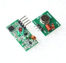 10pcs RF wireless receiver module & transmitter module board Ordinary super- regeneration 315/433MHZ DC5V (ASK /OOK) for arduino
