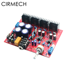 CIRMECH base on Beyerdynamic A1 headphone amplifier MC33078 BD139 BD140 architecture With headphone protect ALPS potentiometer