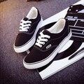 Zapatos planos mulheres casuais sapatos de lona branca sapatos femininos confortáveis ourdoor sapatos rendas até sapatos sapatos estudante da escola do adolescente