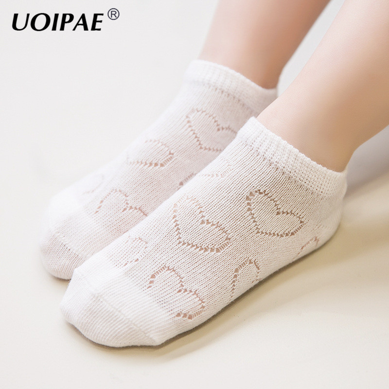 5 Pairs/Lot Soft Cotton Boys Girls Socks Cute Cartoon Heart Pattern Kids Socks for Baby Children 9 Kinds Style for 1-10Y C635 ...