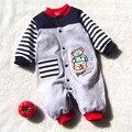 Nova Chegada Do Bebê Recém-nascido Menino Roupas de Manga Longa Bebê Meninos Menina Romper Algodão Infantil Macacão de Bebê Macacões Roupa Do Bebê Set
