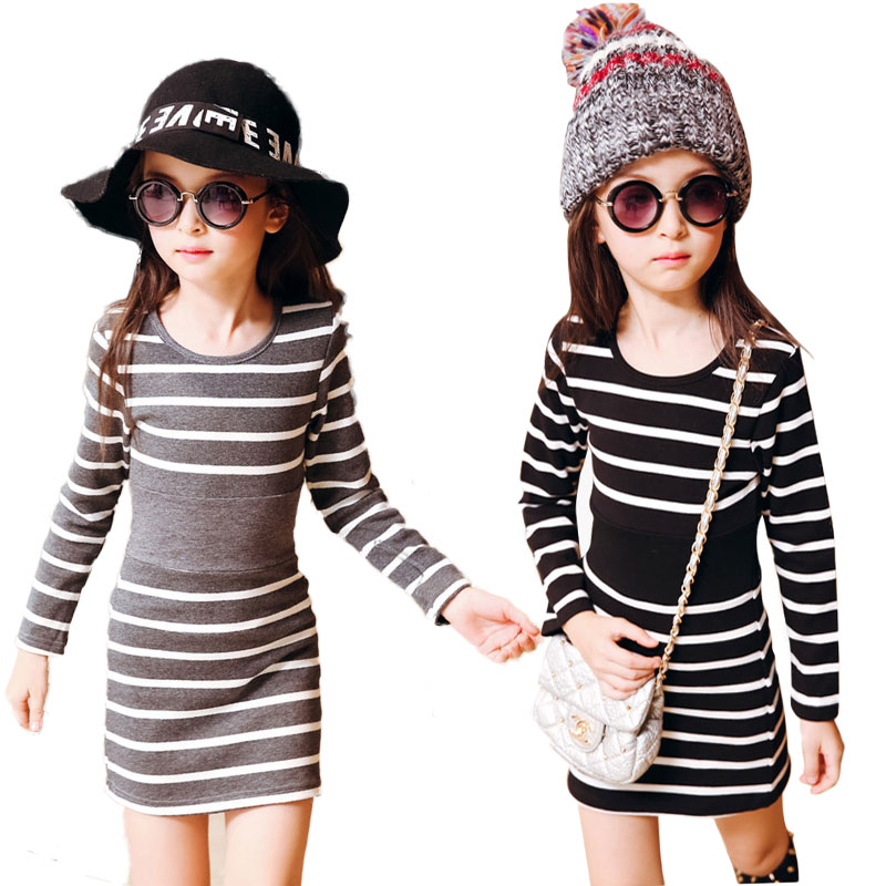 V-TREE Long Sleeve Girls Dress Autumn Kids Dresses For Girls Cotton School Dress Child Costume Teenage Princess Clothes 10 12 printed baby girls dress spring autumn long sleeve princess dress casual costume cotton girls dresses kids clothes tutu vestidos