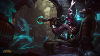 Hot League of Legends Ekko 12x18 20X30 24X36 inch Poster Print game poster
