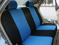 Car Seat Cover Embroidery Logo Front Rear Complete 5 Seat Set For Dodge Ram Charger Durango
