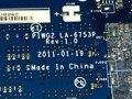 БЕСПЛАТНАЯ ДОСТАВКА ГОРЯЧЕЙ ПРОДАЖИ В РОССИИ PIWG2 La-6753P REV: 1.0 ноутбук материнская плата Подходит для Lenovo G570 Ноутбук C