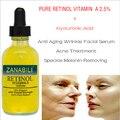 RETINOL VITAMINA A 2.5% + Ácido Hialurônico PURO Cicatriz de Acne remoção de Manchas Creme Facial Soro Anti Rugas Branqueamento Creme Para o Rosto 3 pcs