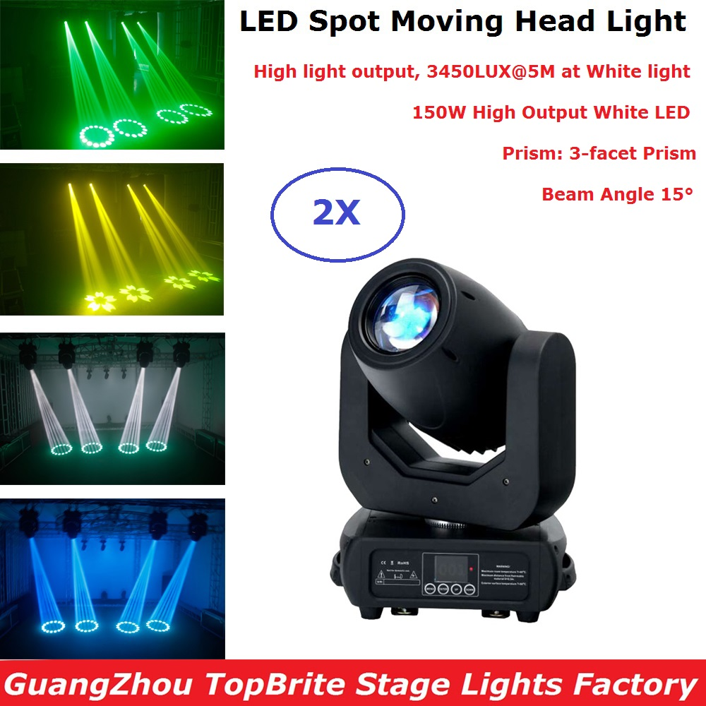 Professional 150W LED Moving Head Spot Light DMX 512 Controller Dj Stage Lighting Effect Party Light Christmas Light ProjectorProfessional 150W LED Moving Head Spot Light DMX 512 Controller Dj Stage Lighting Effect Party Light Christmas Light Projector