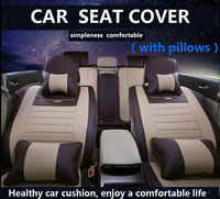 Custom Car Seat Cover Universal Fit Car Seat Cover OCC SCCar Wear Sets With Cushions Support