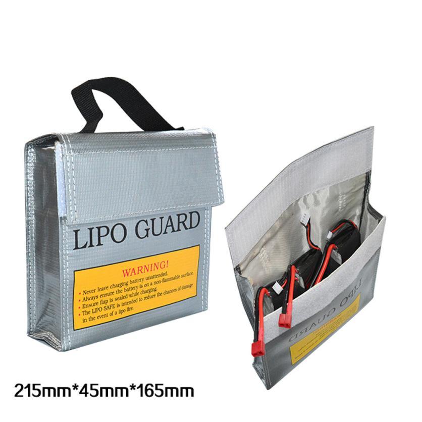LiPo Li-Po Battery Fireproof Safety Guard Safe Bag 215*45*165MM Levert Dropship
