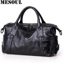 Marke handtaschen Weiblichen Beiläufigen Einkaufstasche Hohe Qualität Grau Echtem Leder Umhängetaschen 2017 Frauen Designer Handtasche Crossbody Taschen
