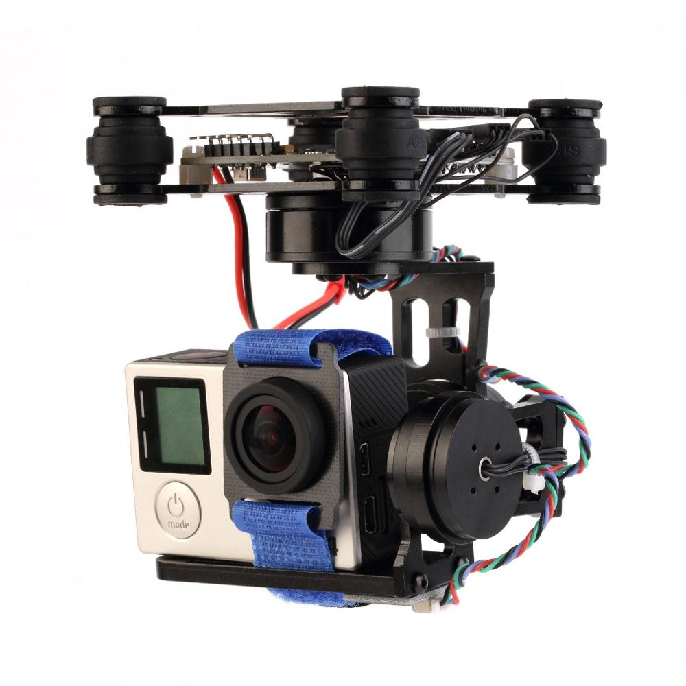 Brand New Gopro3 Gopro Lightweight 2-AXIS/3-Axis Brushless Gimbal Board With Sensor Free Debug For RC FPV Airplane