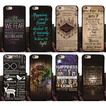 New Arrival Harry Potter Case For iPhone 6 6s Hard Plastic Back Cover Cases For Apple iPhone 6 6S 4.7 inch(China (Mainland))