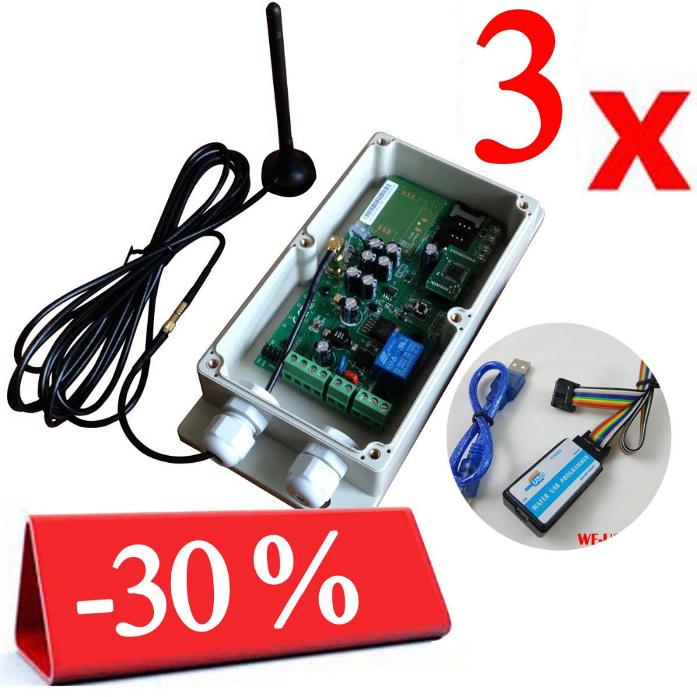 Swing gate remote controller GSM-KEY-ADC200 QUAD Band design for gate opener remote openning