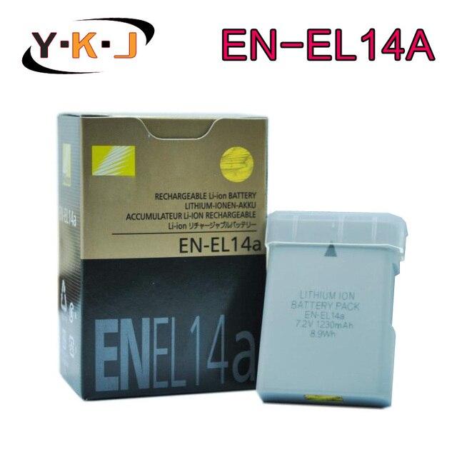 1 шт. новый en-el14a en el14a el14 аккумулятор для nikon DF D3300 D5300 D5200 D5100 D3100 D3200 P7100 P7700 P7800 P7000