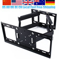 Oversea Tv Wall Mount Bracket Lcd Arm Swivel 3D Tilt to 50kg for 26 - 55 Inch LED TV 55 LCD Flat Screen Local Free Ship