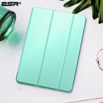 Case voor iPad 9.7 2017 Cover, ESR Yippee Kleur PU Leer + Ultra Slanke Lichtgewicht PC Smart Cover Case voor Nieuwe iPad 2018