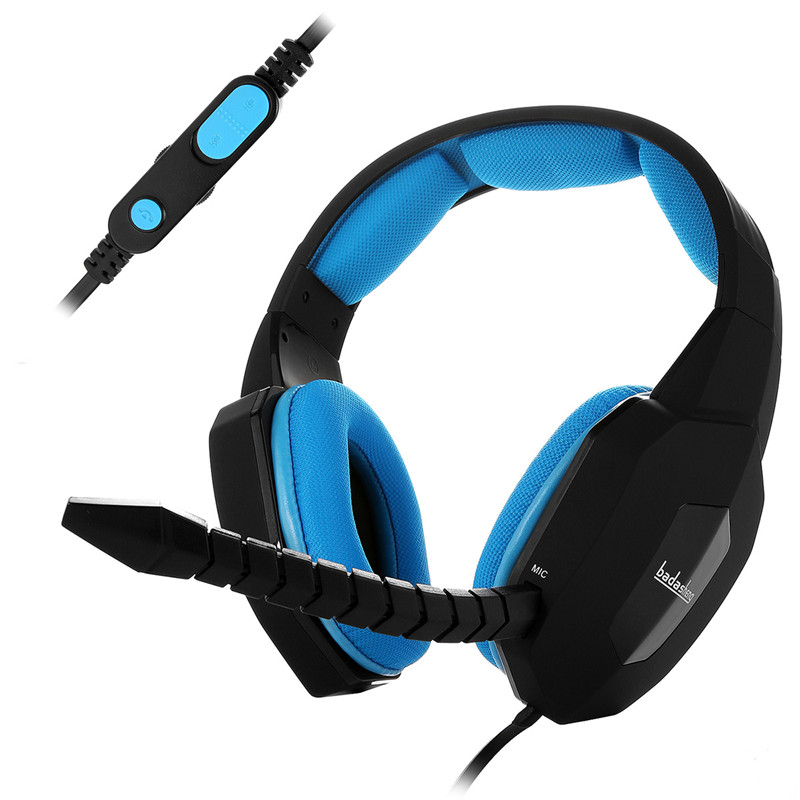 Nieuw Wired Gaming Headset Deep Bass Game Oortelefoon Computer - Draagbare audio en video
