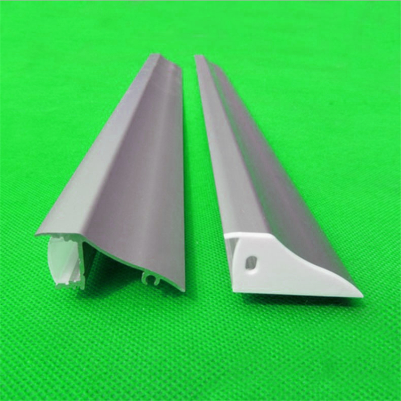 10 30pcs/lot 80inch 2m side lighting aluminum profile ,milky/transparent cover wall mounted light down channel for 12mm pcb