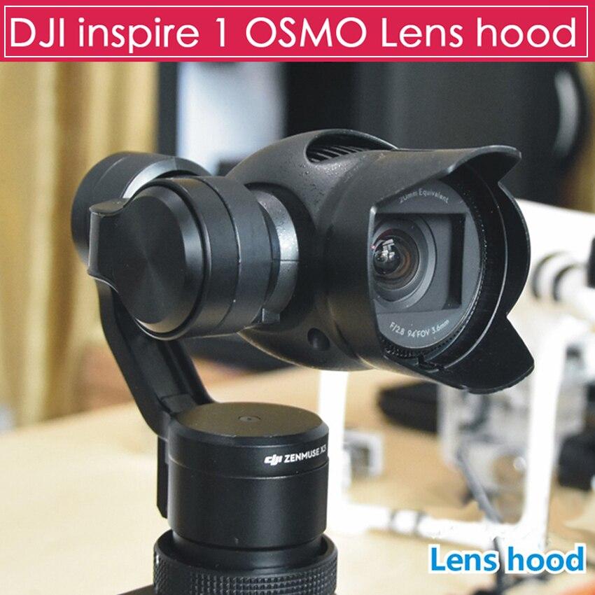 font b DJI b font OSMO Inspire 1 X3 Lens Camera Lens Sunhood Lens Sunshade